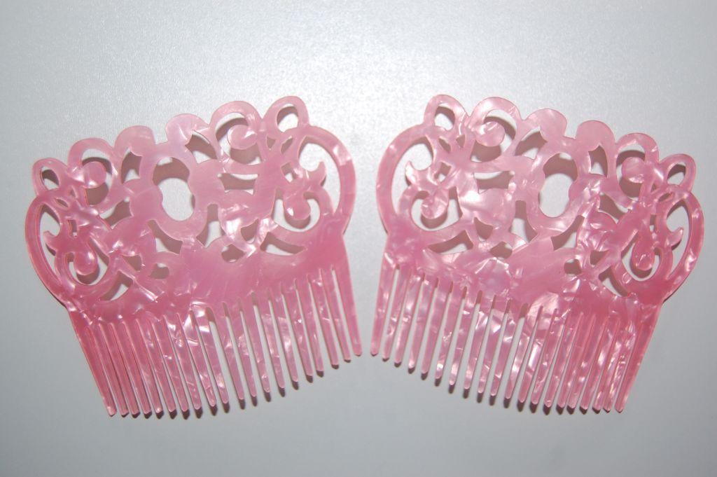 Set 2 pink gypsy girl peinas