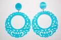 Earrings turquoise fair nights