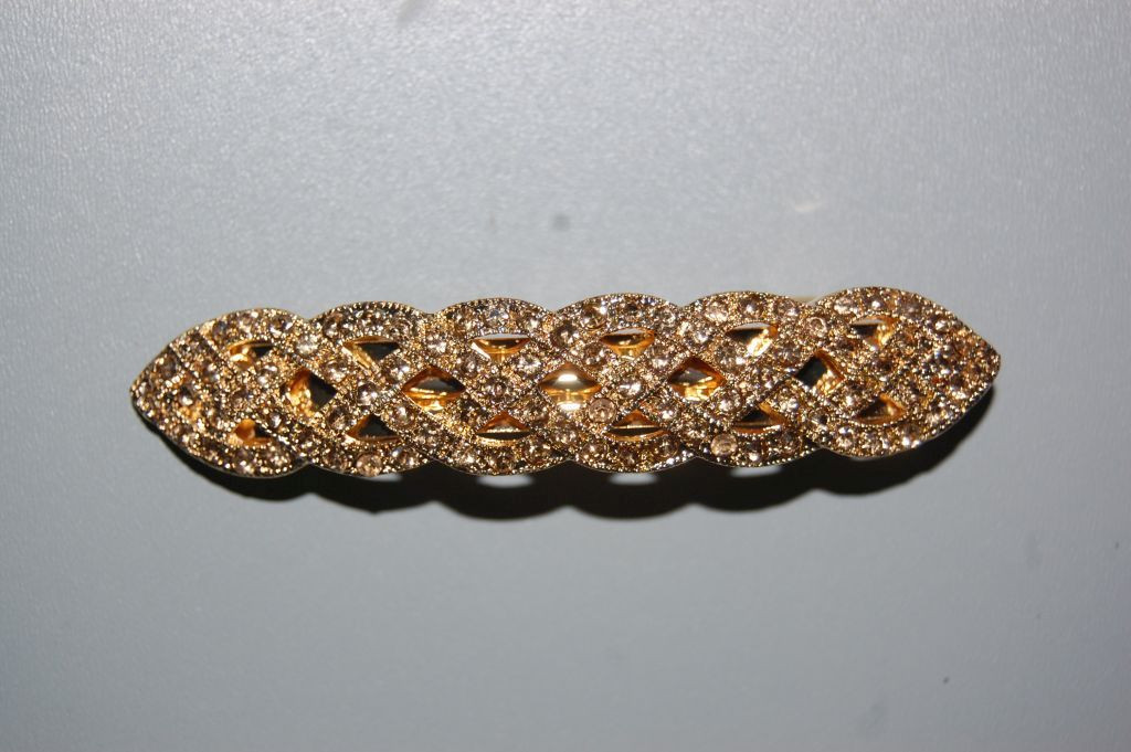 PIN twisted gold glitters