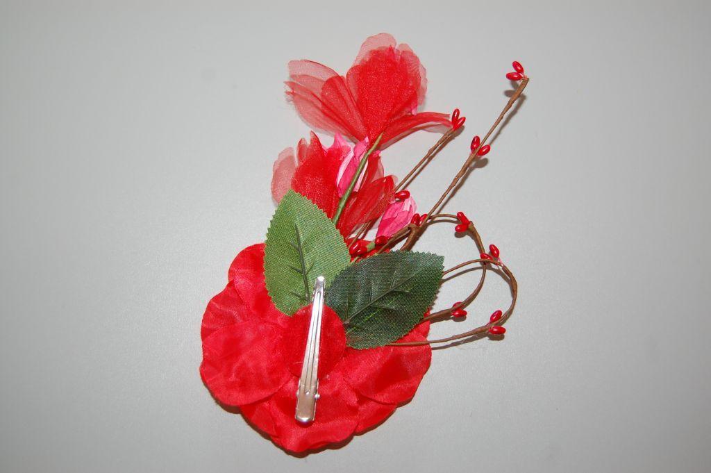 Red bouquet cute flower