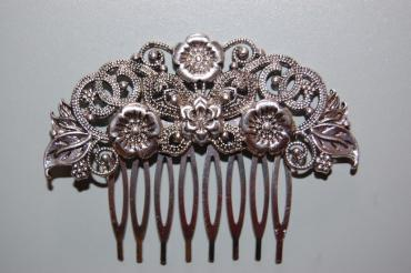 Comb one hundred Queens old silver