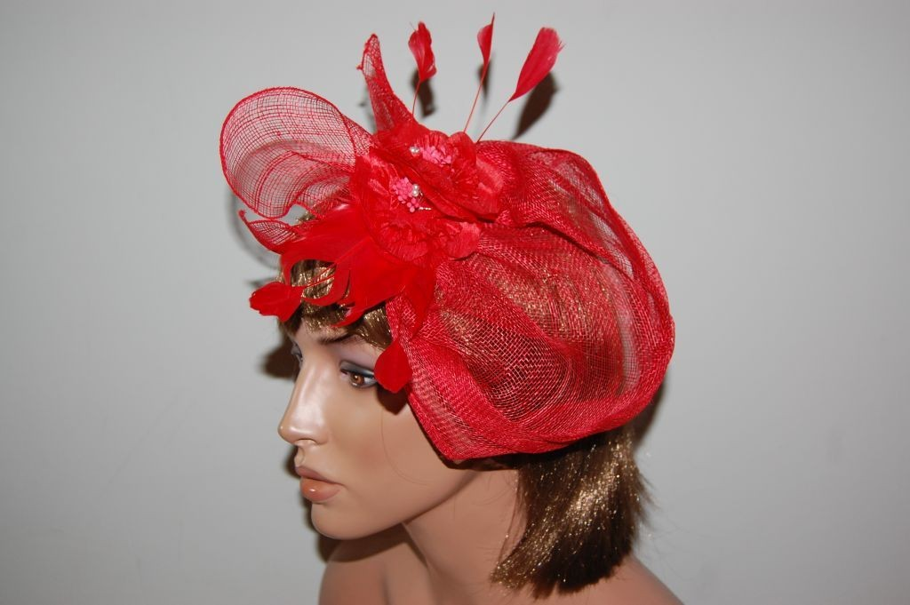 Headgear red Eva