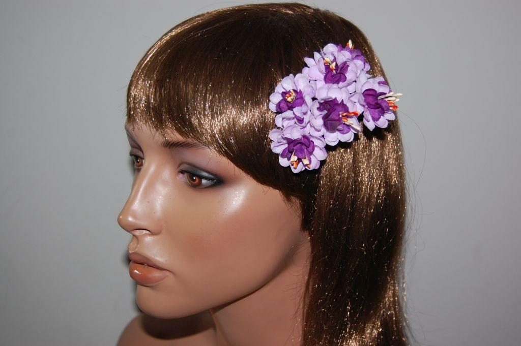 Dahlia corsage purple and lilac