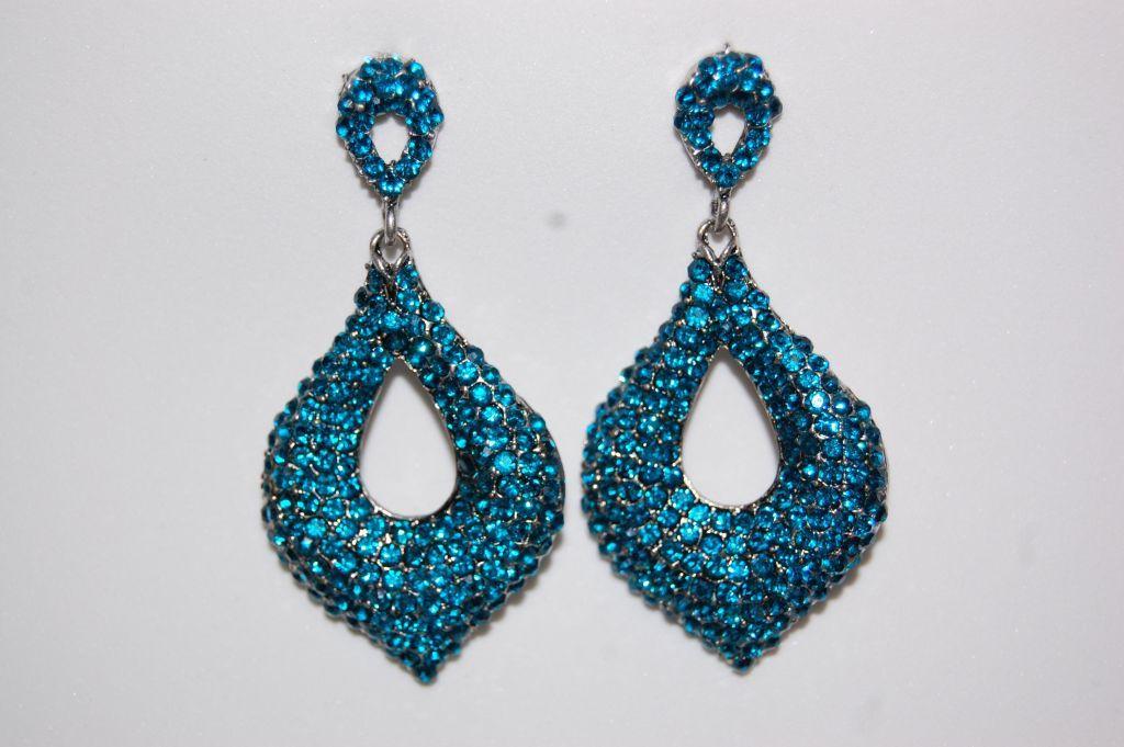 Ruby Earrings turquoise shine