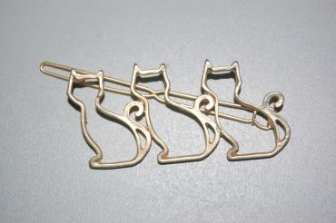 Three cats gold fork