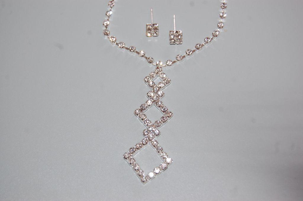 Ensemble Medusa white sparkles