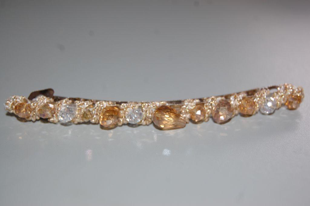 PIN Golden amber beads