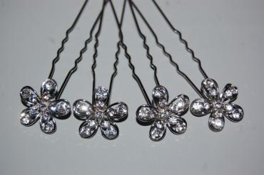 4 forks Lidia set silver