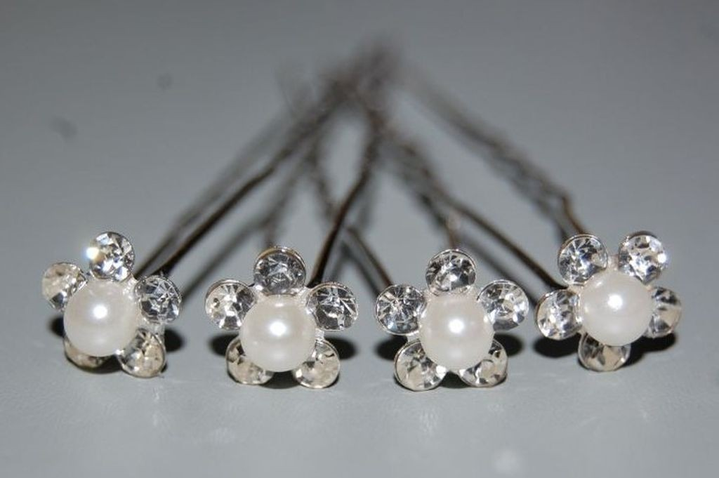 Set 4 forks flower and Pearl
