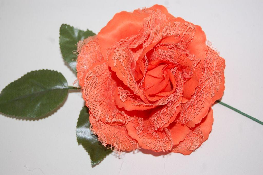 Flower fan Orange small