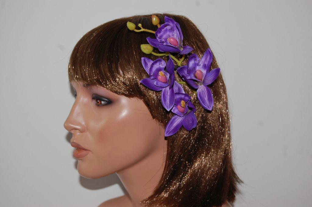 Corsage beautiful Purple Orchid