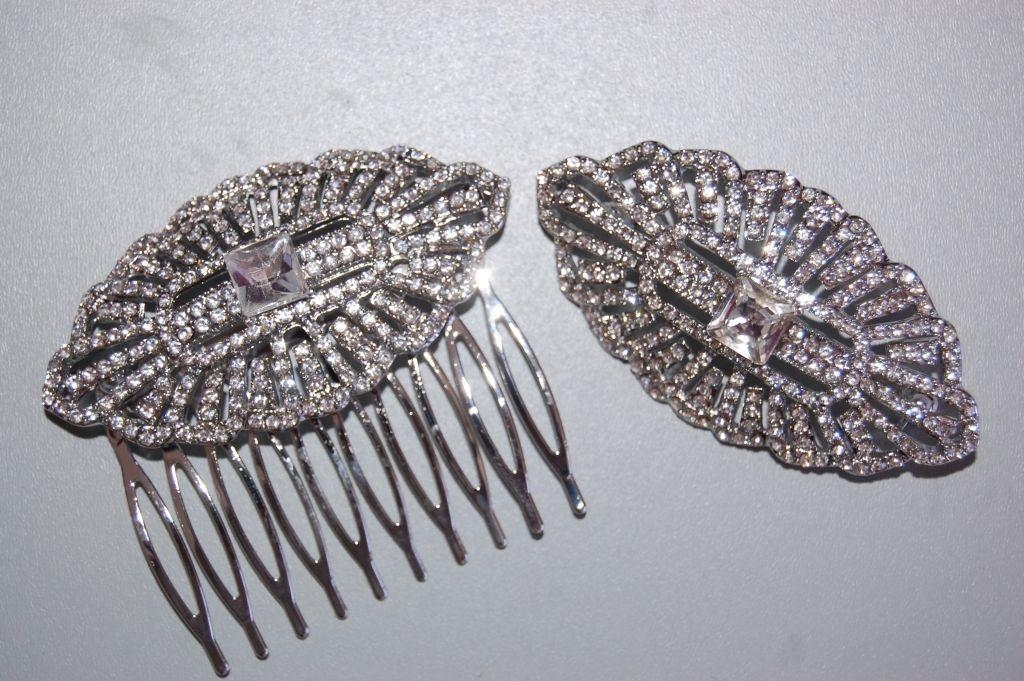 Conjunto Andalucía plata brillos
