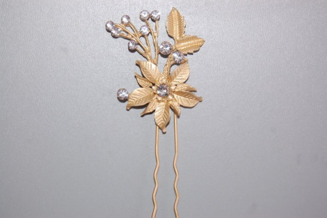 Fork Zira Golden Flower