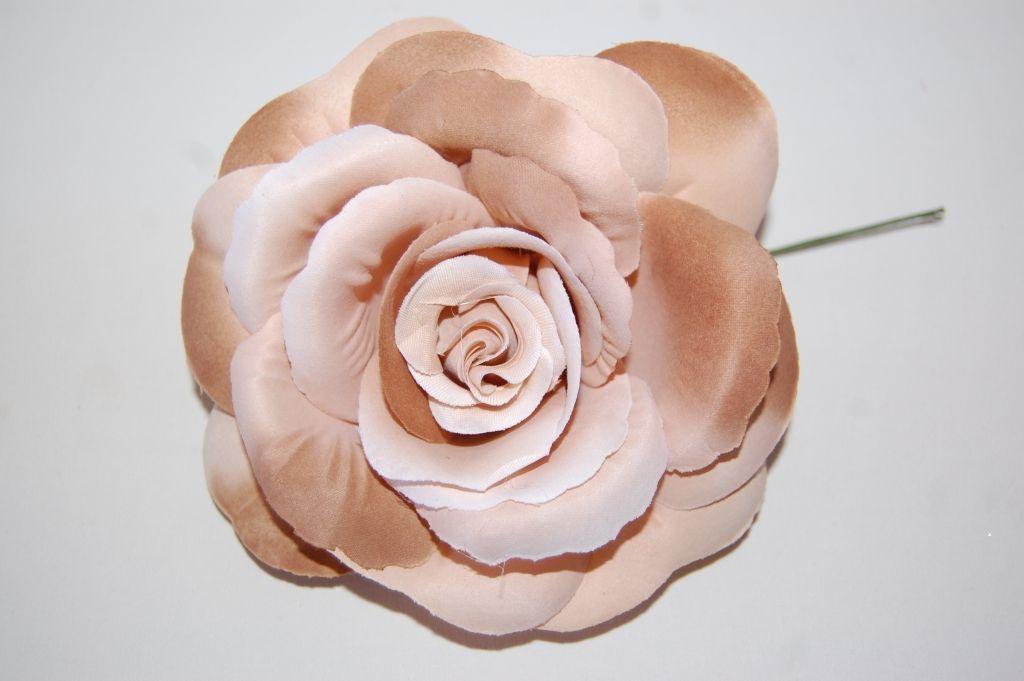 Bicolour flower nude - bronze