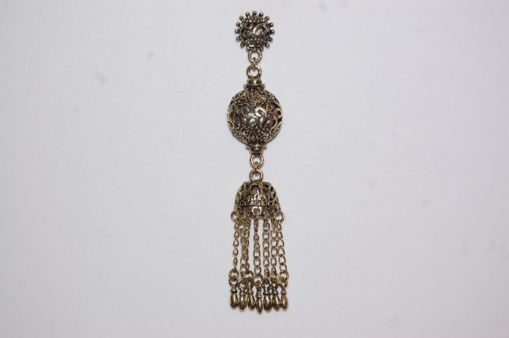 Earrings gold old Sansa