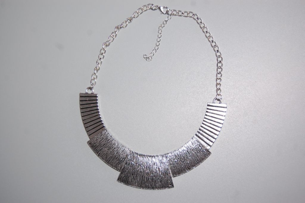 Collar gargantilla plata Adoris