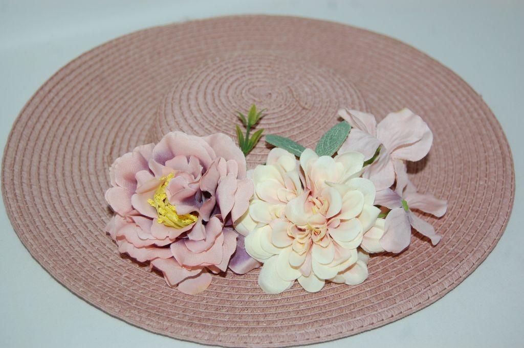 Sombrero a elegir base y flores