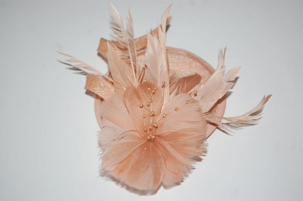 Tocado Bella Natacha nude coral