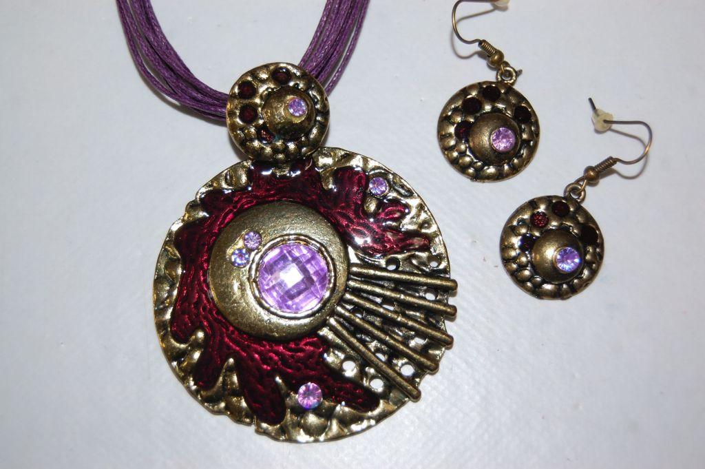 Set purple Odin