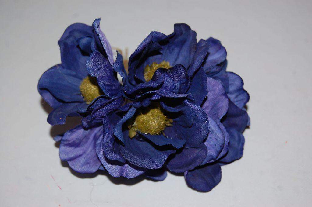 Ramillete primavera azul marino