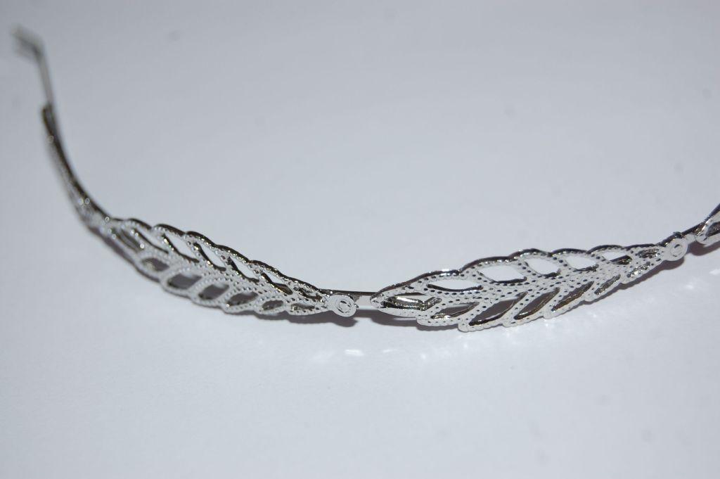 Diadema plata nueva griega