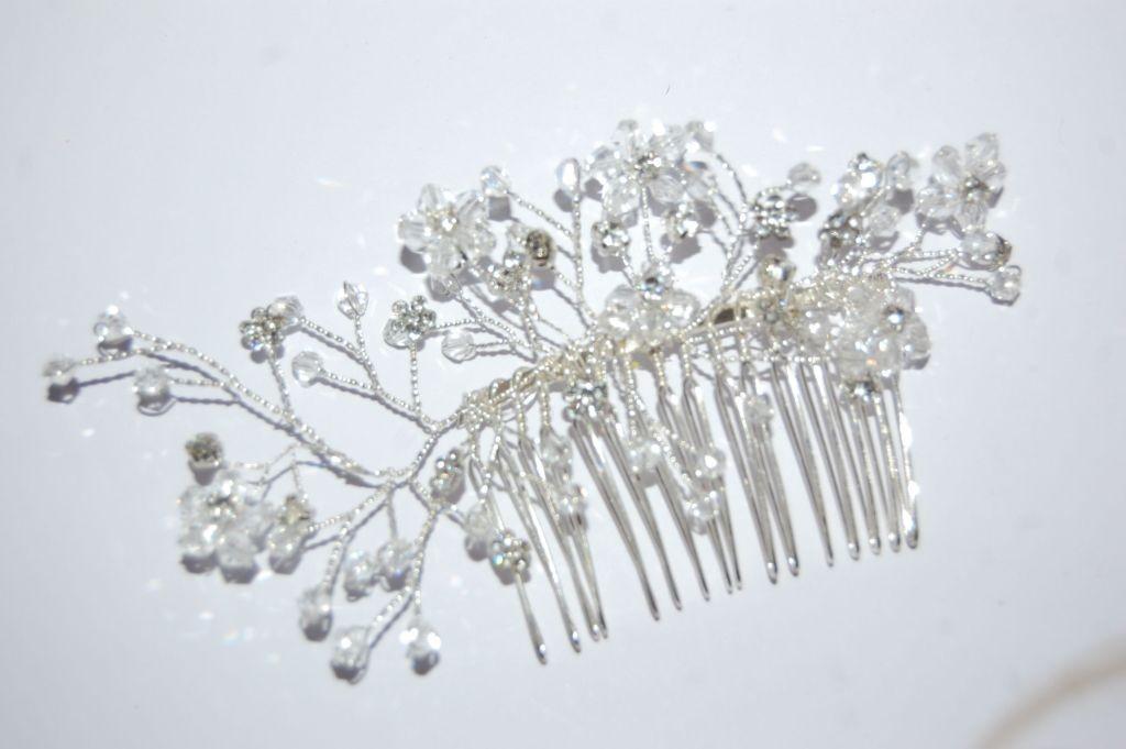 Peina mil flores cristal translúcido