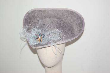 Pamela Alexandra plata y gris
