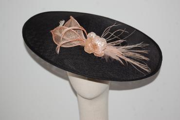 Pamela 40 cm negra y nude rosado