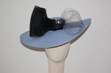 Pamela azul y negra 40 cm