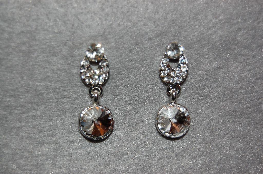 Earrings dew glitters