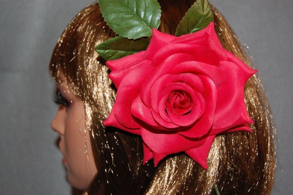Flor rojo azahar