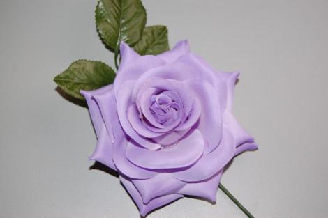 Violet flower orange blossom