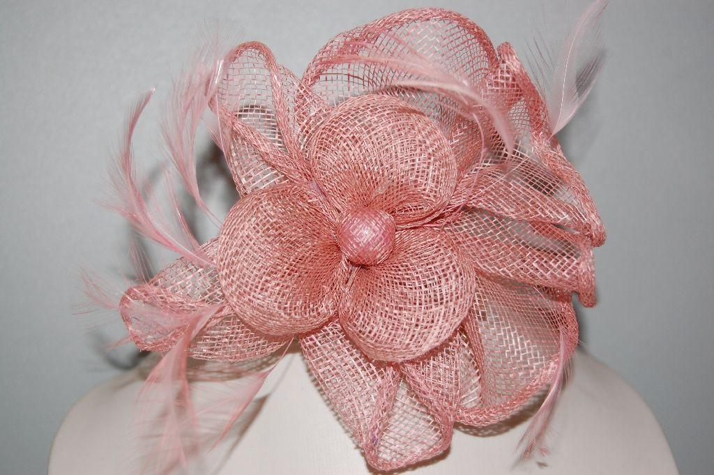 Pink poppies headdress