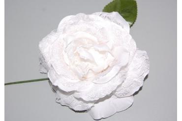 Flower fan white