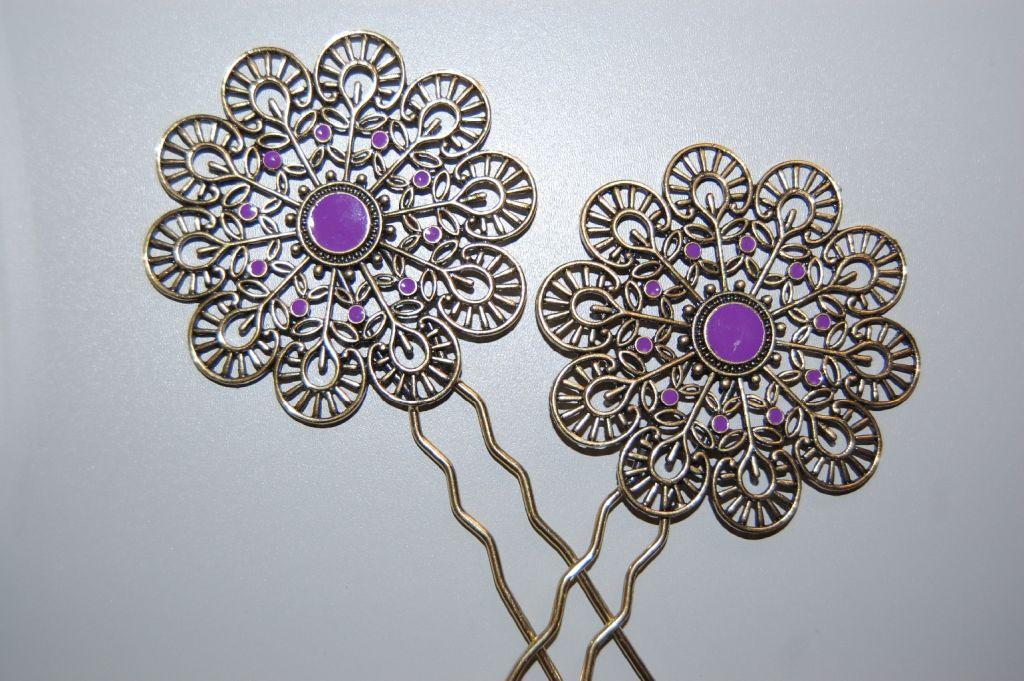 Altogether two peinas purple Gypsy