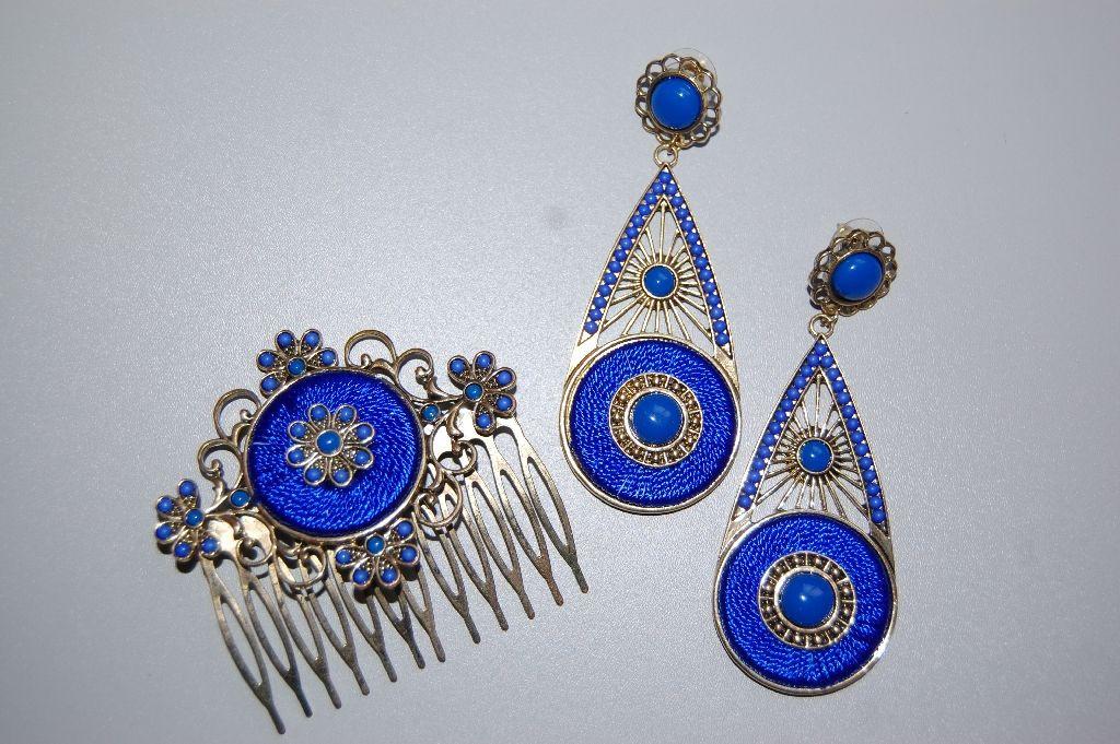 Conjunto farolillo azul