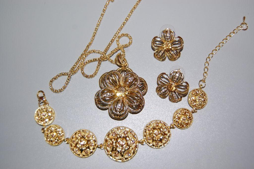 Bright Golden Flower set