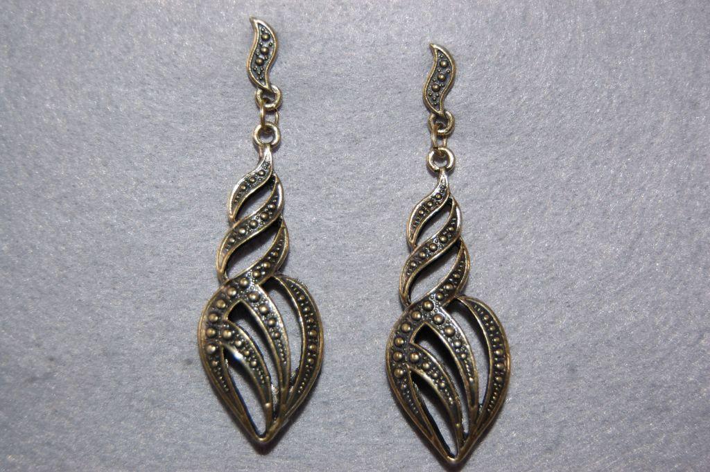 Maite earrings gold old