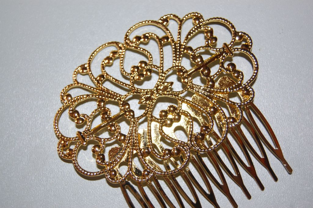 Combs Luci bright gold