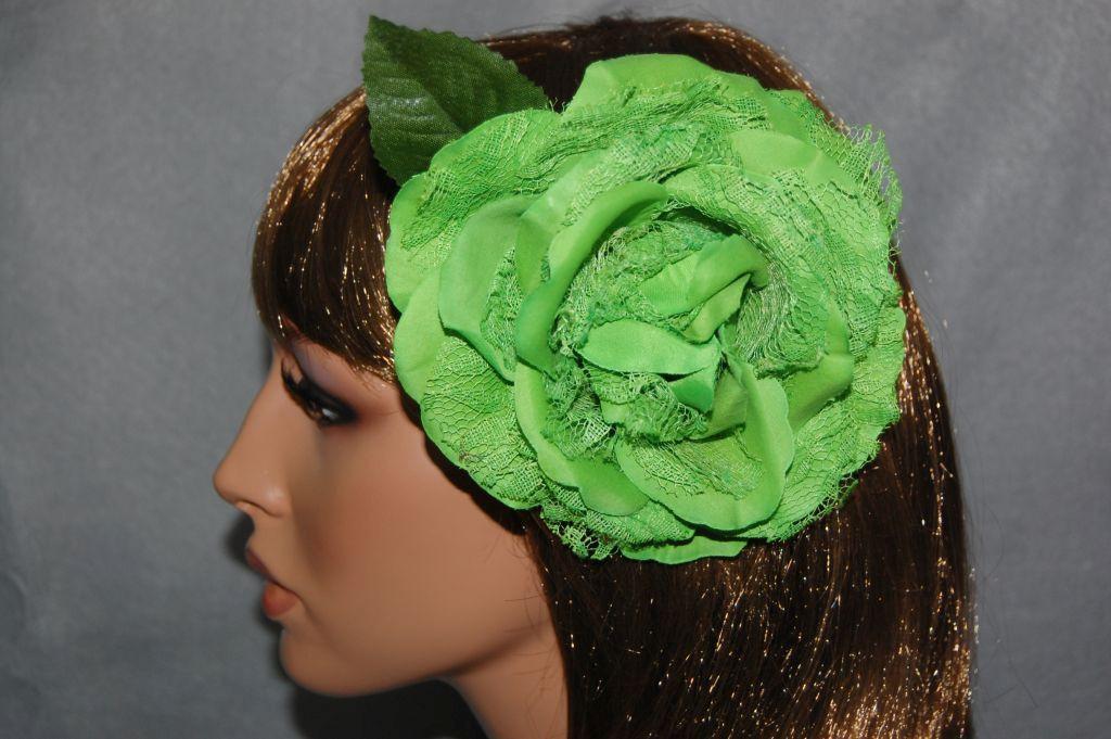 Flower fan green lemon