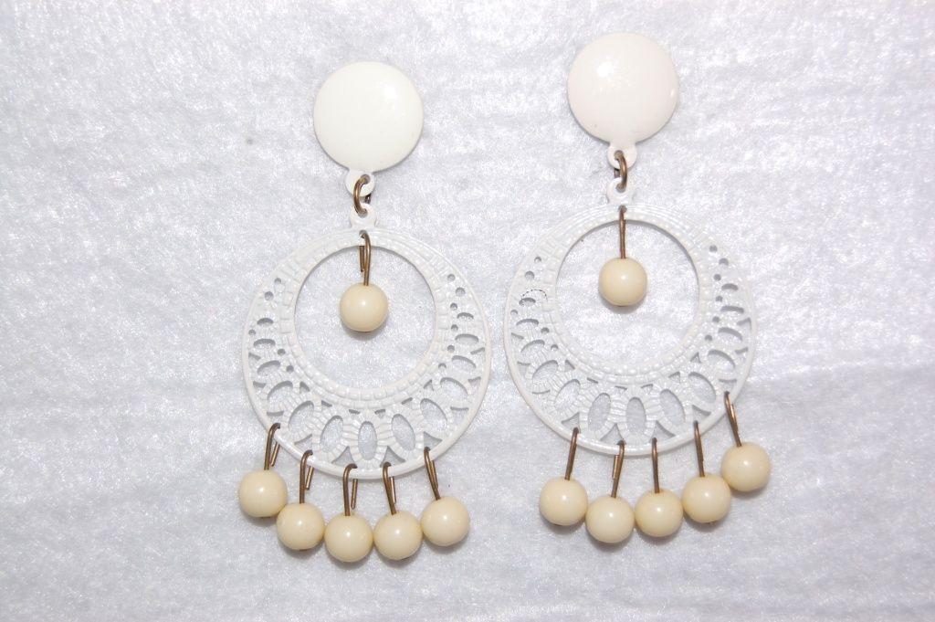 Earrings Lunarillo beige