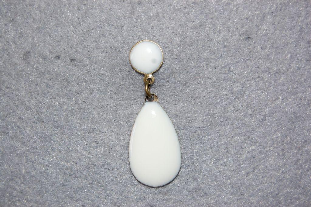 Earring gypsy girl white