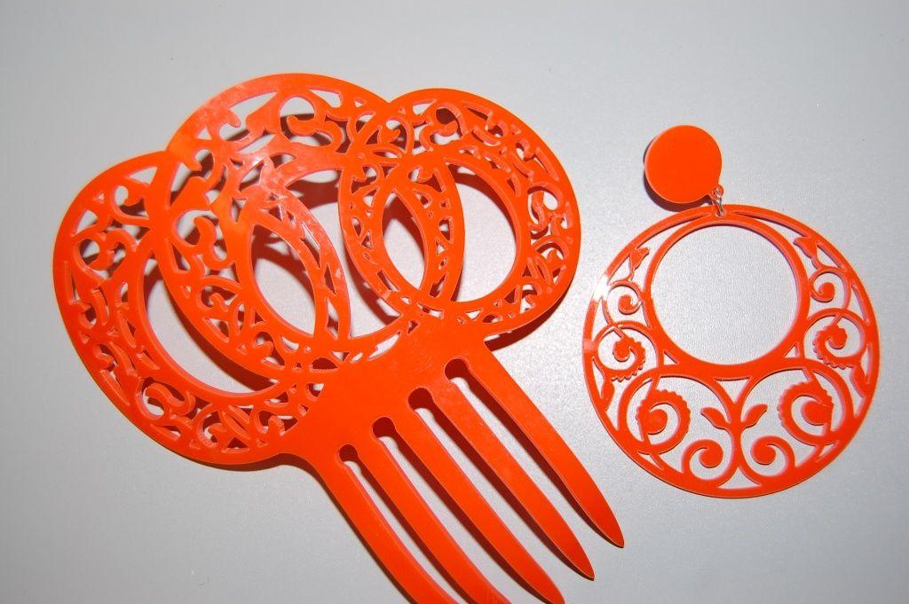 Orange dew set