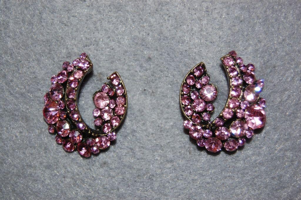 Earrings Lina shine pink