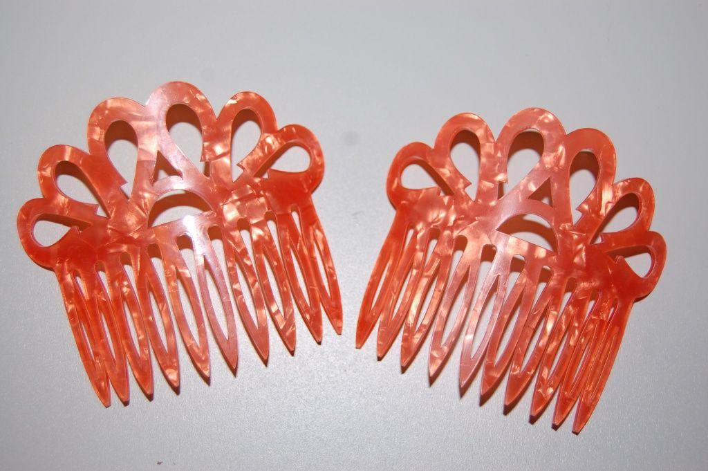 Set two Combs madruga Orange