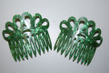Set two Combs madruga Green