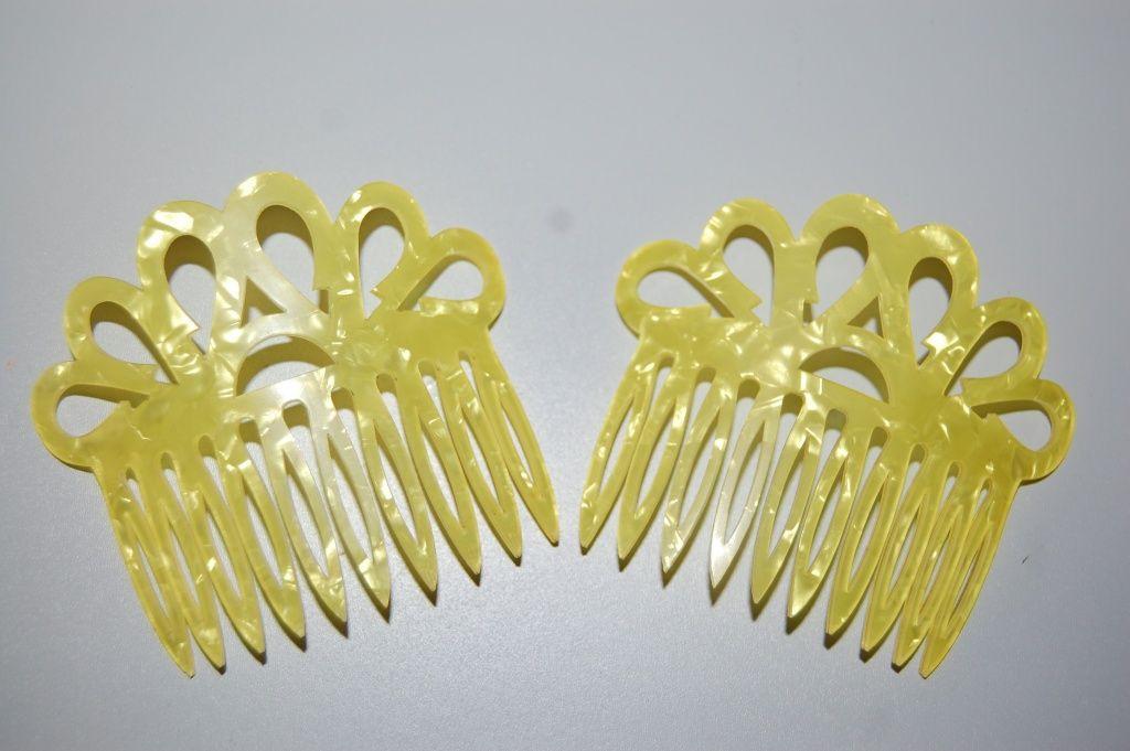 Set two Combs madruga yellow
