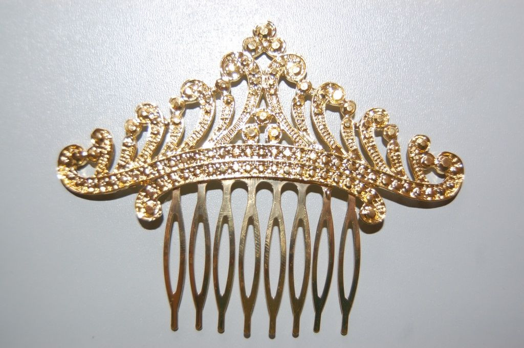 Princess Tiana golden comb