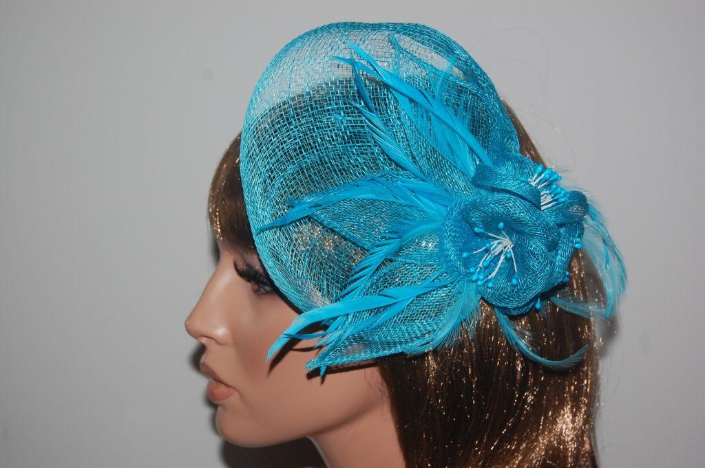 Large turquoise María headdress