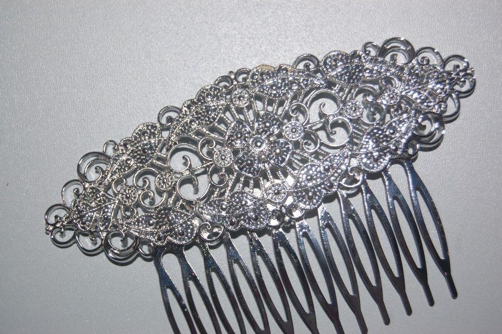 Comb silver new garden